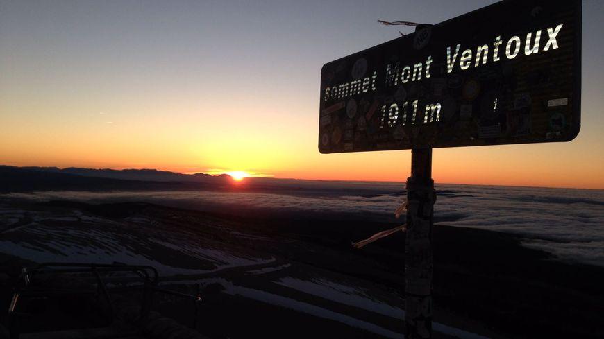 Le Ventoux à 8h14, le premier janvier 2017