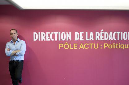 Stéphane Albouy, directeur des rédactions du Parisien et d'Aujourd'hui en France