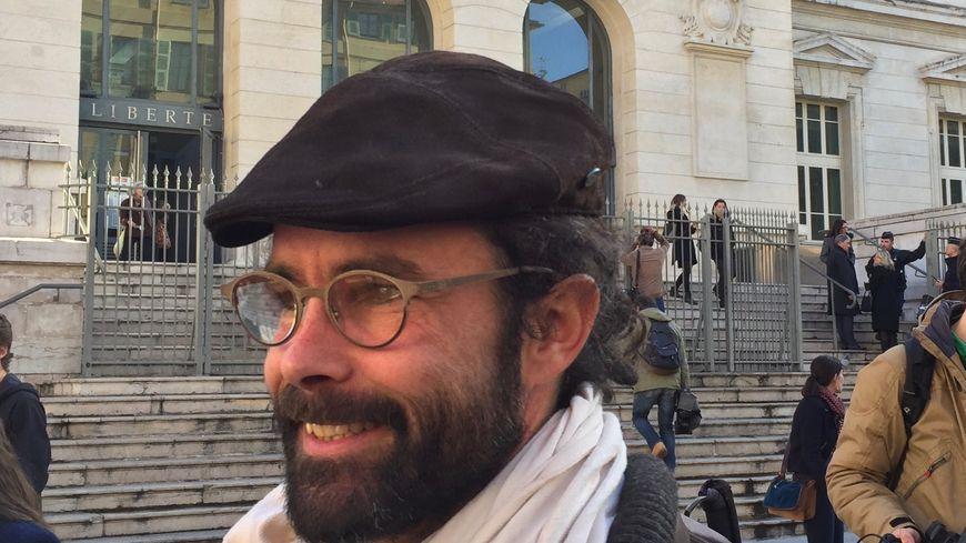 Cedric Herrou à Nice