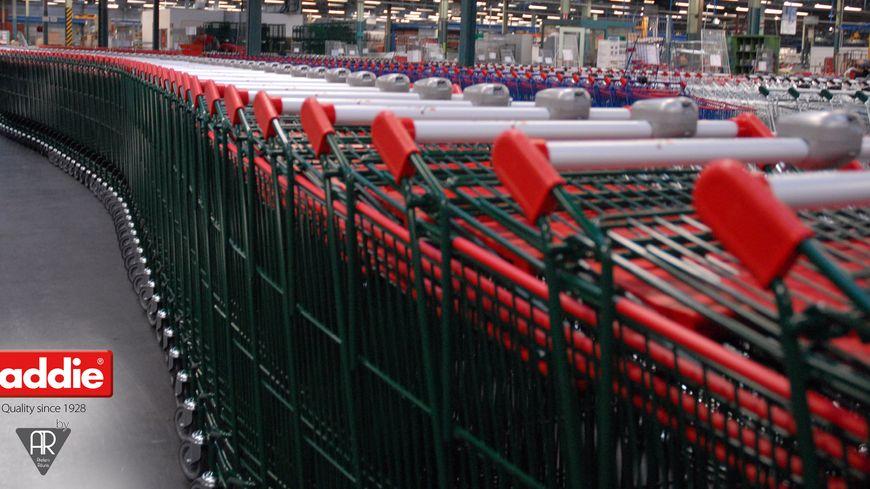 20 000 chariots de supermarché ont été commandé à Caddie par Carrefour