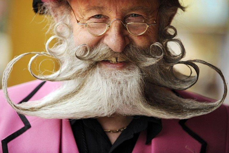 Gerhardt Knapp en 2008 dans un concours allemand de barbes