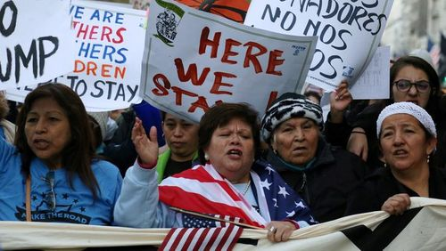 Women's March on Washington: lutter à pied
