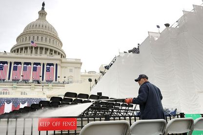 Washington DC se prépare pour l'investiture de Donald Trump