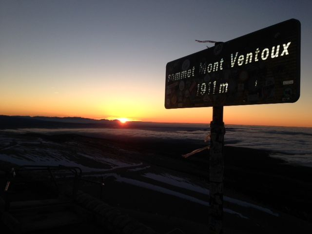le Ventoux, à 8h14