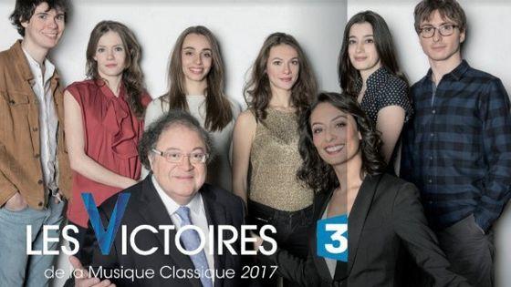 Révélations des Victoires de la Musique Classique 2017 avec Leila Kaddour-Bouddadi Frédéric Lodéon