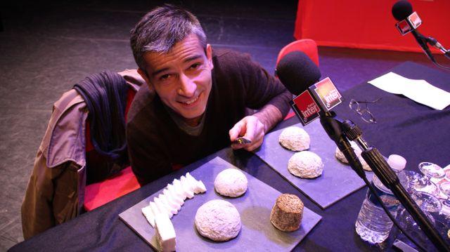Gérard truffandier de la fromagerie Jousseaume