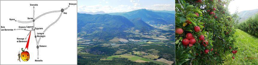 Le verger du Val Alpin, pommes, poires, et gite rural...