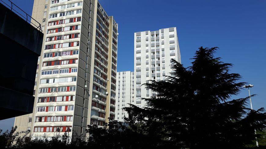 Vue d'un quartier de Bobigny, en Seine-Saint-Denis