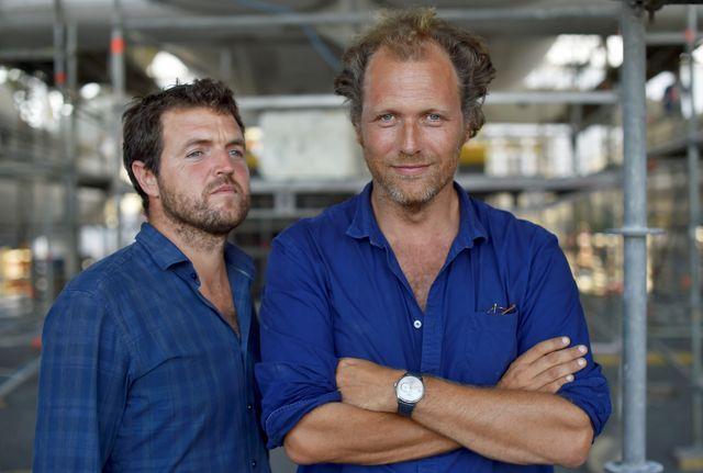 Victorien Erussard et Jérôme Delafosse