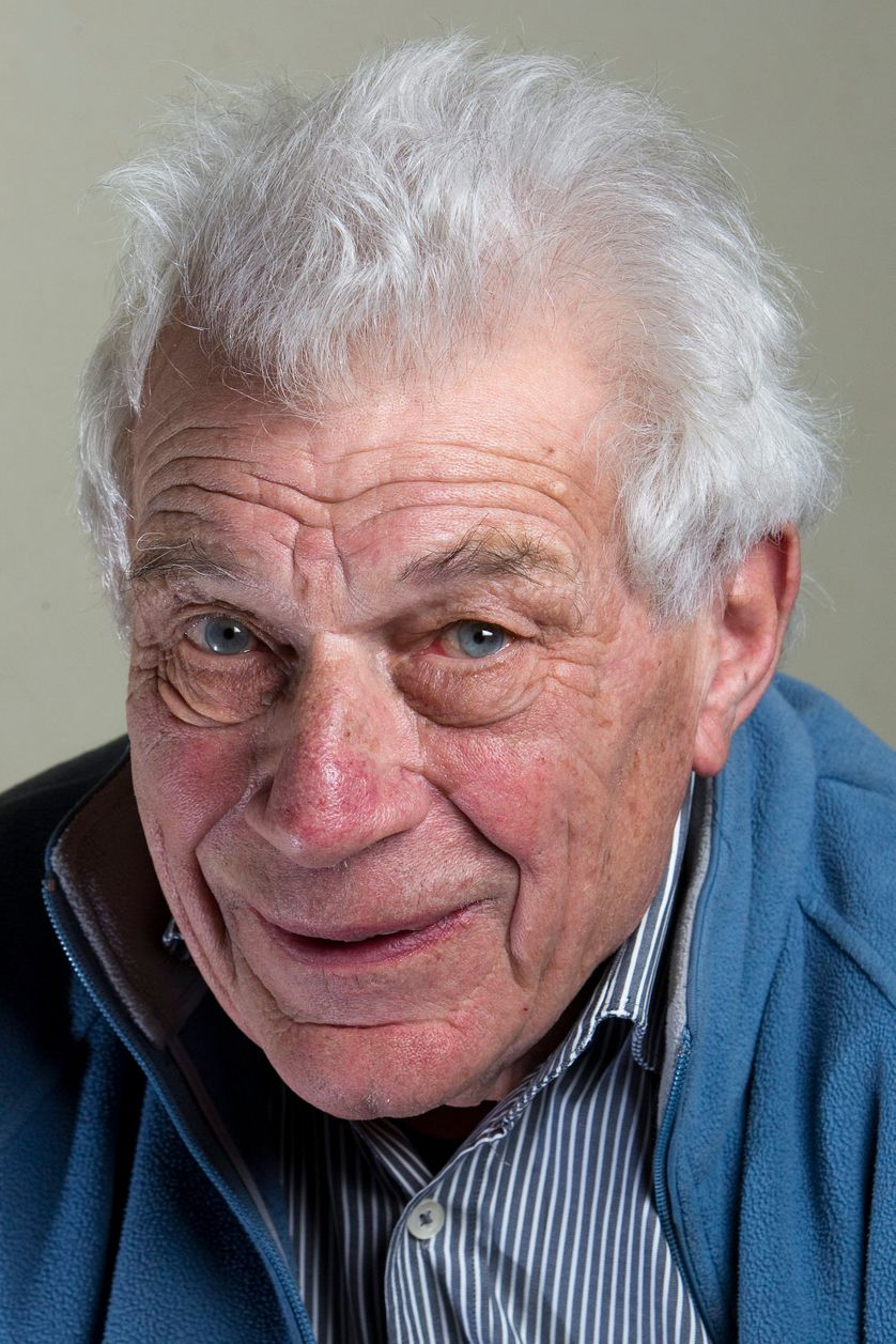 John Berger en 2010, à Genève