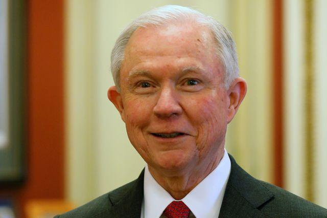 Jeff Sessions, futur ministre de la justice de Trump
