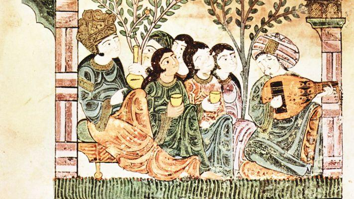 Illustration du Hadîth Bayâd wa Riyâd