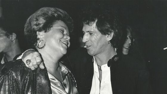 Etta James et Keith Richards