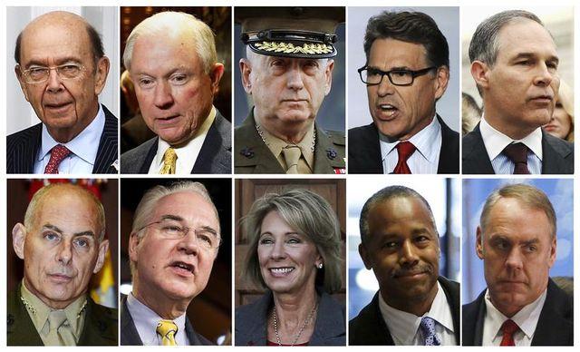 Les futurs ministres de Trump auditionnés par le Sénat