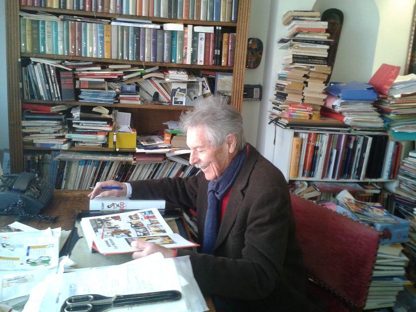 André-Paul Duchâteau, scénariste de Ric Hochet