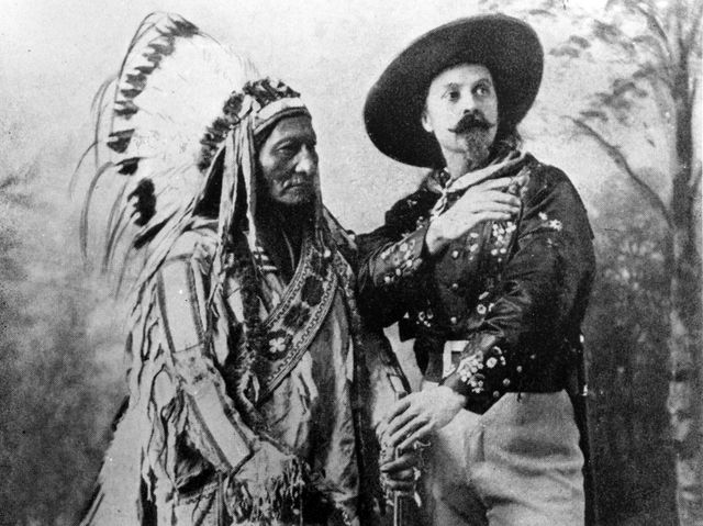 Sitting Bull et Buffalo Bill