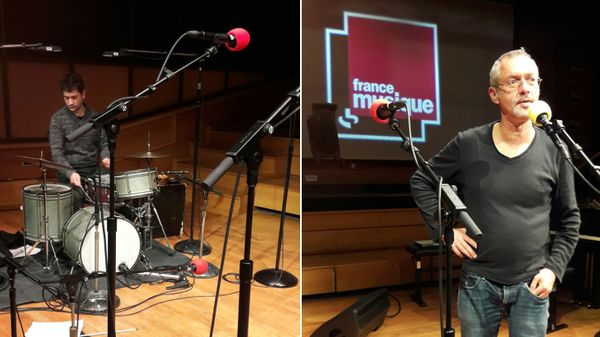 "Fabrice Villard et Francesco Pastacaldi en concert ""A l'improviste"" à Radio France"