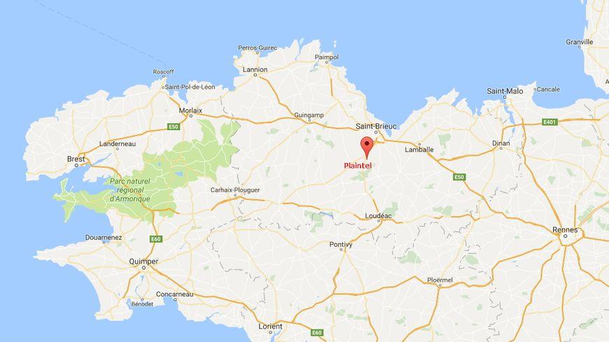 L'accident s'est produit à Plaintel près de Saint-Brieuc