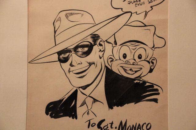 Dans l'exposition Will Eisner, génie de la bande dessinée américaine