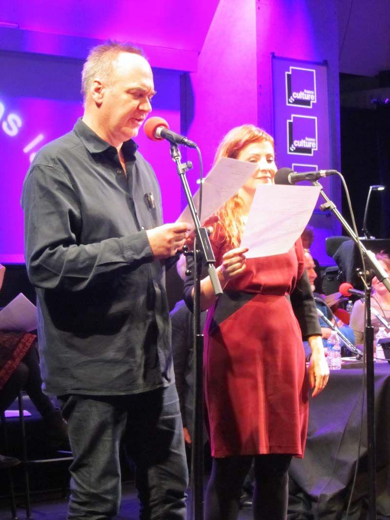 Hervé Le tellier et Jehanne Carillon