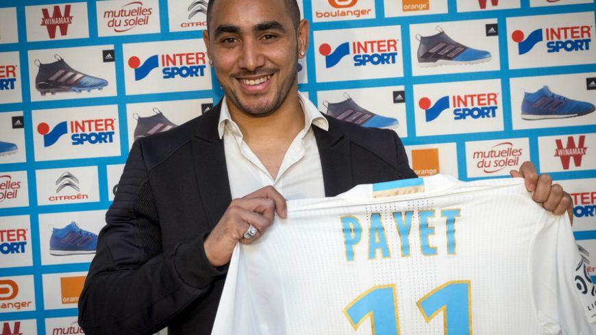 Maillot Extérieur Olympique de Marseille Dimitri PAYET
