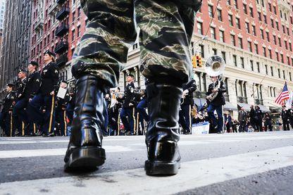 Défilé militaire aux Etats-Unis