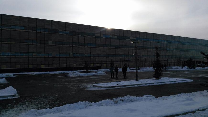 Le personnel découvre le nouvel hôpital Nord-Franche-Comté