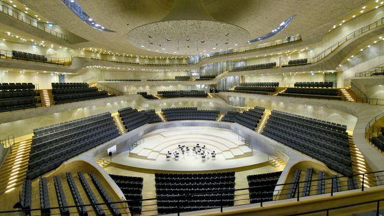 La salle de la Philharmonie de l'Elbe