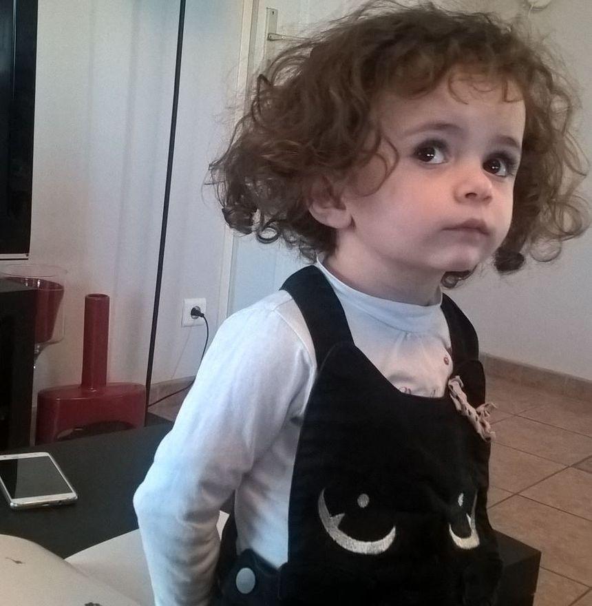 Justine aura trois ans en juillet et devrait rentrer à l'école en septembre.