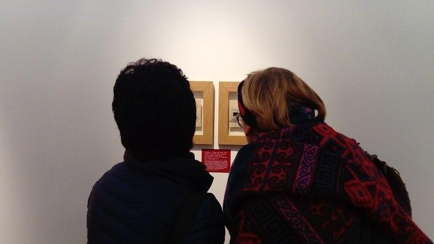 L'exposition continue jusqu'au 28 février (sauf ce dimanche 20 janvier, ce sera 4 euros plein tarif, 2 euros tarif réduit).