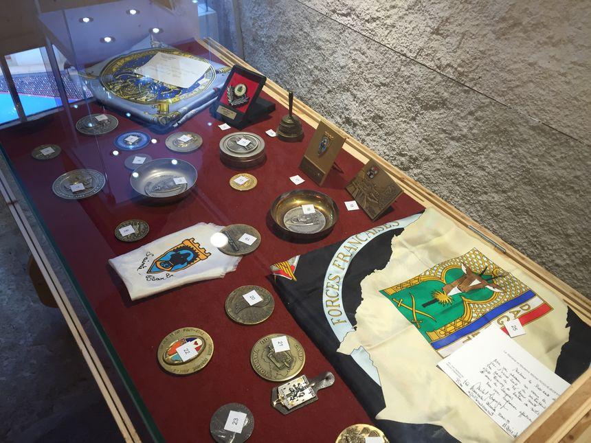 Médailles et souvenirs de Gaby Pourchet