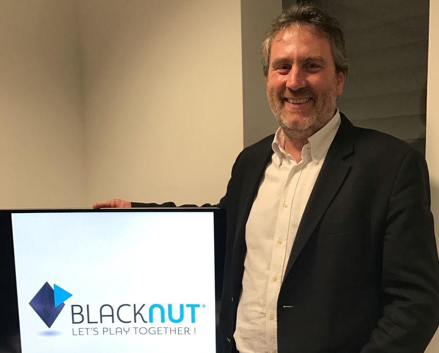 Olivier Avaro, le co-fondateur et directeur général de Blacknut