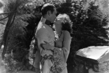 "Photo du film ""La belle ténébreuse"" de Fred Niblo avec Greta Garbo"