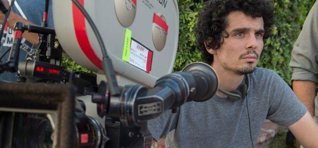 Damien Chazelle sur le tournage