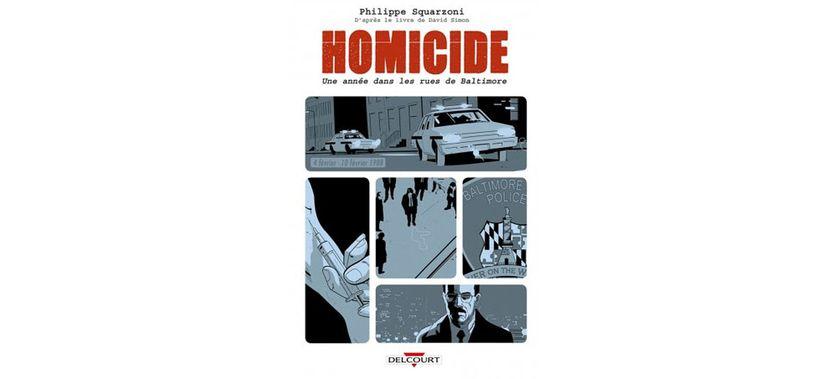 Homicide // Philippe Squarzoni