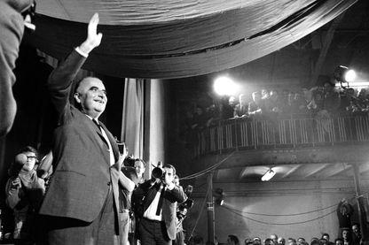 Et au 2ème tour de l('élections présidentielle de 1969, il n'y avait plus de candidats de gauche