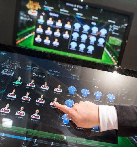 Un logiciel de football