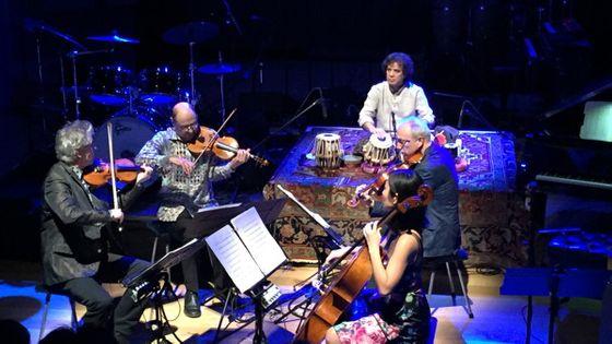 Kronos Quartet & Zakir Hussain