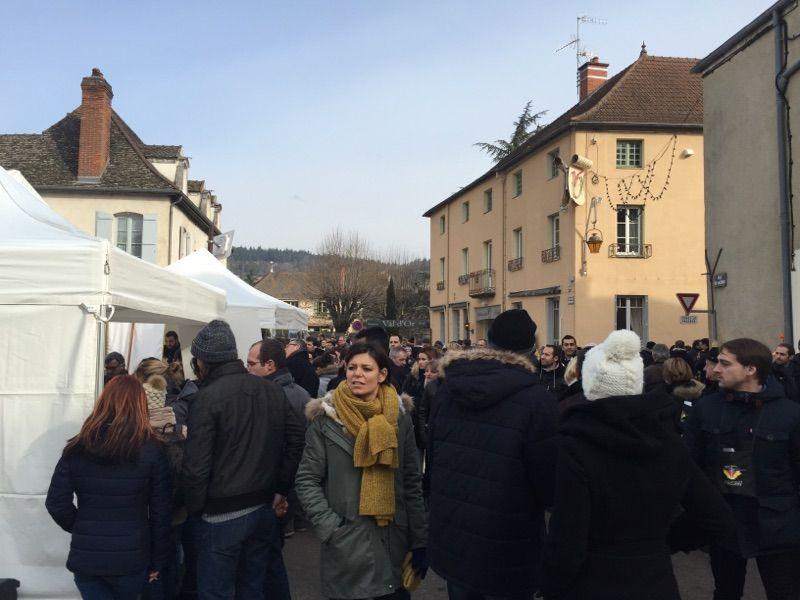 La foule des grands jours à Mercurey pour la Saint-Vincent-Tournante