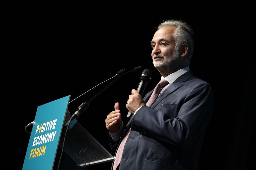 Jacques Attali en septembre 2014