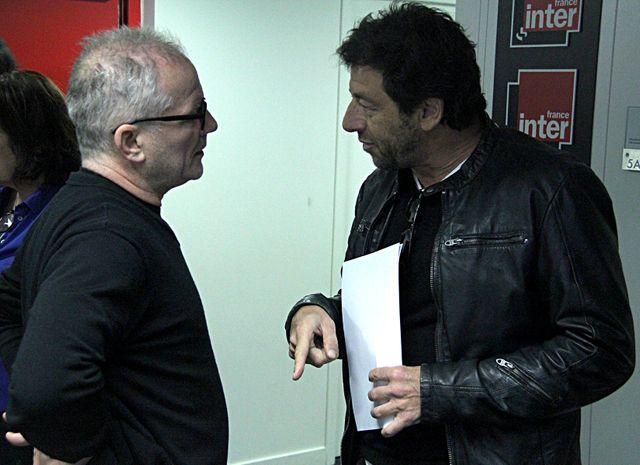 Thierry Frémaux et Patrick Bruel