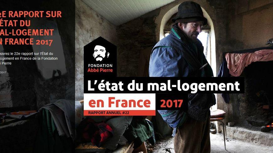 La fondation Abbé Pierre a publié hier son 22ème rapport sur l'état du mal logement en France