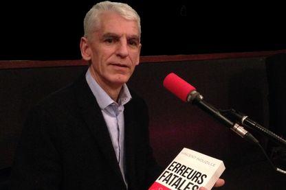 """Vincent Nouzille est l'auteur de """"Erreurs fatales"""" (Fayard)"""