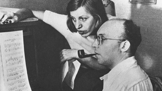 Kurt Weill et Lotte Lenya