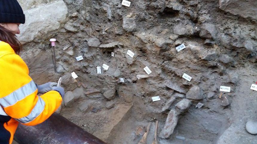 Une trentaine de squelettes ont pour l'instant été découverts