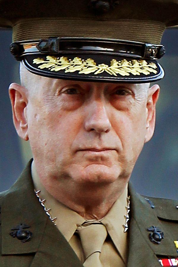 Le Général 4 étoiles John Mattis, futur secrétaire d'Etat à la Défense de Trump