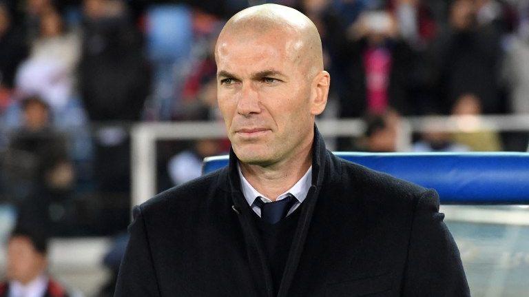Zinedine Zidane est l'entraîneur du Real Madrid depuis janvier 2016