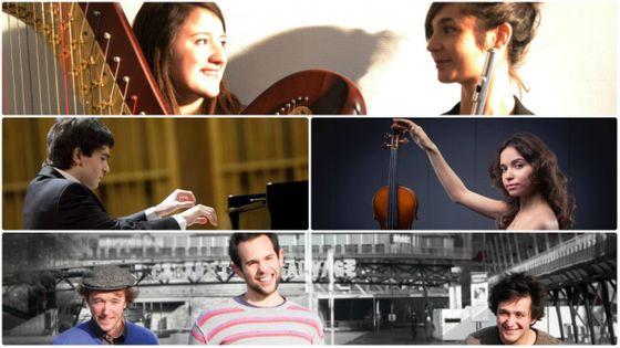 Le Duo Gingko, Ingmar Lazar, Ekaterina Valiulina, le Trio Musica Humana (DR)