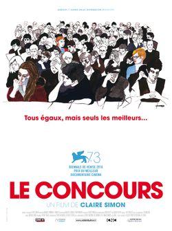 Affiche du film Le Concours de Claire Simon