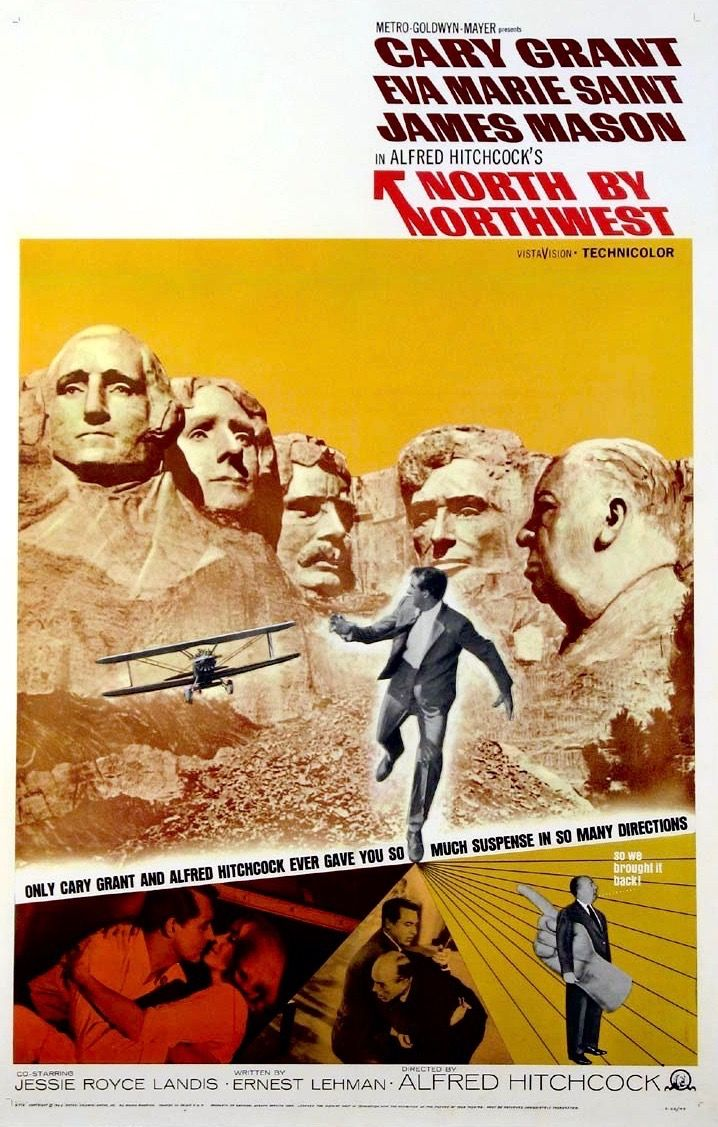 Affiche du film North by Northwest